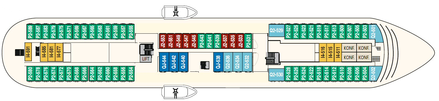 Finnmarken Deck 5