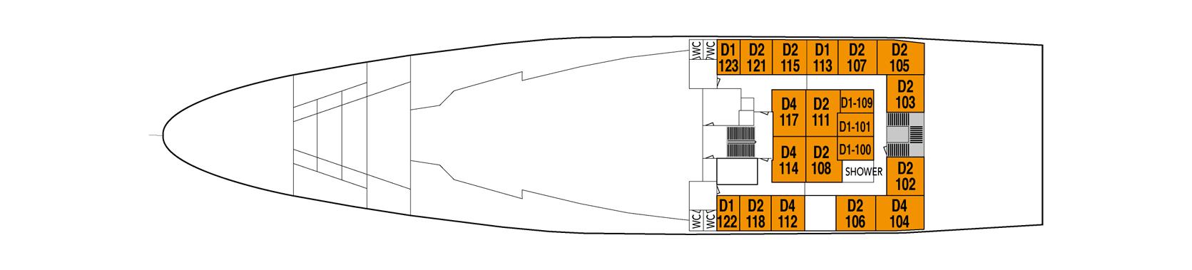 Finnmarken Deck A