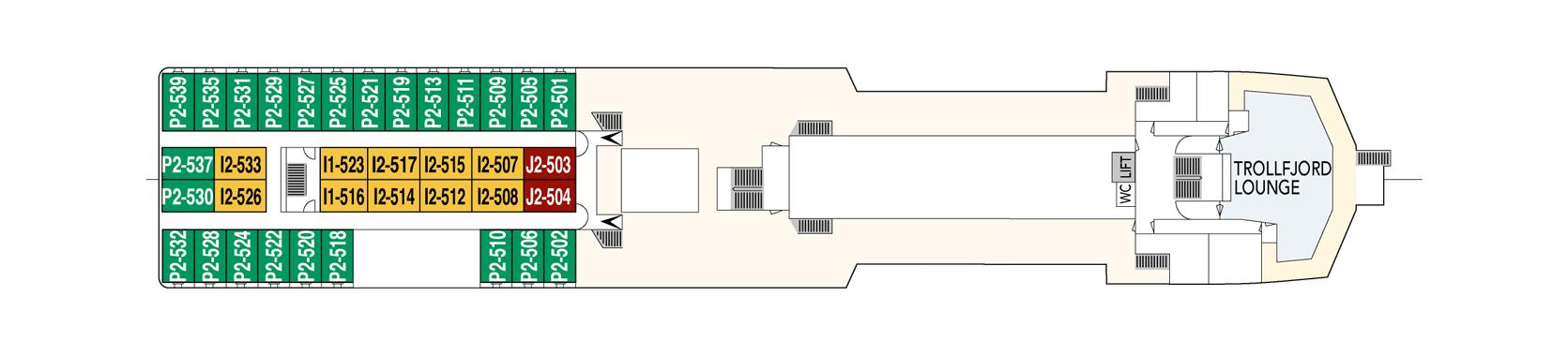 Vesteralen Deck E