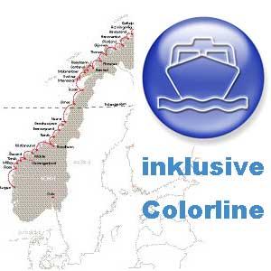 15 Tage Norwegen pur  inkl.  Color Line